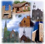 many churches